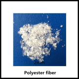 2mm de Vezel Uesd van het Huisdier 100%Polyester in het Beton van het Asfalt met ISO, SGS Certificatie