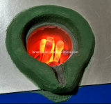 Forno di fusione dell'oro di induzione di tecnologia di IGBT, macchina di fusione