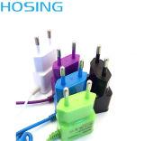 5V 2.1A conjuguent le logo à la maison d'OEM de qualité de chargeur d'USB