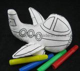 Juguete relleno vario espacio en blanco de la muñeca de la pintada del Doodle de los niños de los cabritos de DIY reutilizable lavable