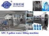 5 gallon d'eau minérale (SPC) de la machine de remplissage