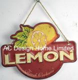 フルーツデザインは印刷の金属の壁の装飾のプラクを浮彫りにする