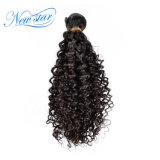 Оптовая торговля Weft плетение перуанской Kinky Curl Virgin Реми волосы добавочный номер