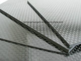 100% do painel de chapa de fibra de carbono exemplar 3k fosco sarjado