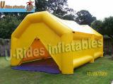 Tenda gonfiabile gialla esterna per l'evento