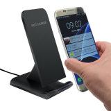 Caricatore senza fili di Powermat del basamento universale veloce all'ingrosso del telefono per lo standard di Samsung Qi per il iPhone 8