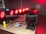 108X3w RGBW bewegliches Hauptlicht der Stadiums-Licht-Wäsche-LED