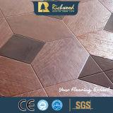 Vinil Woodgrain HDF V-capas de madeira estratificada soalho em madeira