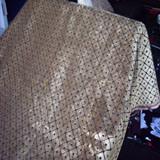 Violeta sofá de tela (DCH308)