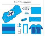 La rodilla disponible estéril Arthroscopy quirúrgico cubre el paquete