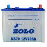Batería de almacenaje del coche 60ah 12V/Zolo