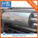 0,3 mm de PVC claro rollo de película rígida para formación del vacío