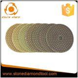 Меди пола диаманта 5 дюймов пусковые площадки конкретной Bond полируя