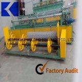 Comando PLC cerca metálica de malha de arame máquina plana de tecelagem
