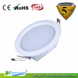 Dimmable White Silver Shell Shouing Lampe de plafond 15W LED Downlight