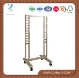 Sem Escada Duplo Standing Rack de exibição