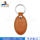 Mini Draagbaar Leer RFID Keycard voor Toegangsbeheer