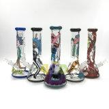 Tubo di fumo di vetro del tubo di acqua della coppa di Morty e del Rick dei tubi di vetro
