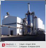 La tecnología de avance de línea de producción de polvo de yeso horno rotativo