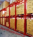 倉庫の記憶に使用するスタック可能パレットボックスに容易