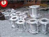 Il giunto di dilatazione di FiMetal (DXYH-009) nished il tubo flessibile di flurine quattro con la copertura della rete dell'acciaio inossidabile.