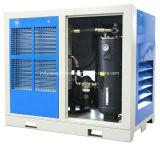 Tipo estacionário de refrigeração ar compressor do parafuso de ar