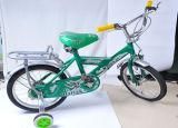 Los niños bicicleta