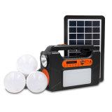 Mini sistemi di illuminazione di energia solare con il sistema di energia solare dei comitati solari del giocatore 3W di TF/USB/Bluetooth Pm3