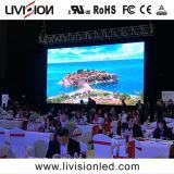 5 anni della garanzia HD di grande LED della fase del video a colori schermo di visualizzazione pieno dell'interno P3.9