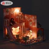 최고 생일 선물 3D 수수께끼 나무로 되는 인형 집 모형 장난감