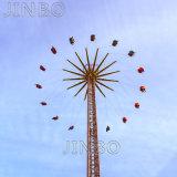 Parque temático china Atracciones Atracciones Carnaval fabricante de la torre de vuelo equipo