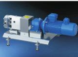 Medidas sanitárias da bomba de lóbulo rotativo de aço inoxidável para o creme de leite e produtos lácteos
