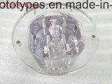 CNC di iso 9001 che lavora con le parti di plastica di alta qualità dal disegno personalizzato delle illustrazioni
