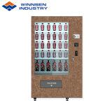 エレベーターシステムが付いているWinnsenの赤ワインのシャンペンビール自動販売機