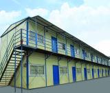 フィリピンの倉庫Workshop/2の階のプレハブの家のためのプレハブの構造スチールの建物、