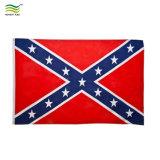 Imprimé de Polyester écologique américaine drapeau des Confédérés rebelle