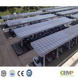 질은 Residentail와 상업용 옥상 PV 시스템을%s 급료 265W 태양 전지판을 보장했다