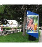 表記ポスターを広告するエレクトロルミネセンスELポスターELパネルEL