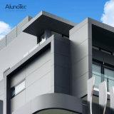 Eindeutiger Entwurfs-rechteckige Aluminiumzwischenwand für Garten