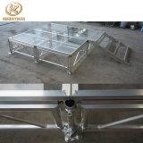 Fase mobile di cerimonia nuziale della fase del blocco per grafici di alluminio con la piattaforma acrilica