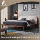 Простые деревянные кровати для спальни Домашняя мебель
