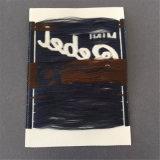 Custom 7*10 cm de tela gruesa de alta densidad de etiquetas tejidas las prendas de vestir tejidas Etiquetas Nombre