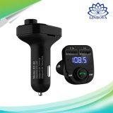 Manos Libres Bluetooth Car Kit de coche USB Reproductor de MP3 Accesorios para auto transmisor FM Wireless Bluetooth Car Kit