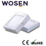 Venta caliente LED 12W luz del panel de la superficie con CE (cuadrado)