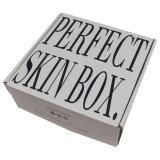 주문 순서 물결 모양 백색 판지 상자