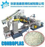 Scarti asciutti puliti dei fiocchi della pellicola dell'HDPE del PE lavati plastica che granulano la riga di pelletizzazione