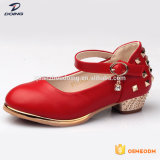 China Fabricante Moda grossista Bonitinha little Meninas Sapatos de salto