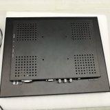 15 polegadas/BNC VGA MONITOR LCD profissional com estrutura metálica