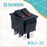 Soken Rk1-21 lente en el Apagado Encendido interruptor basculante doble