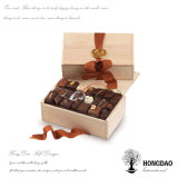 Houten Doos van het Ontwerp van de Douane van Hongdao de Speciale, Gift Box_D